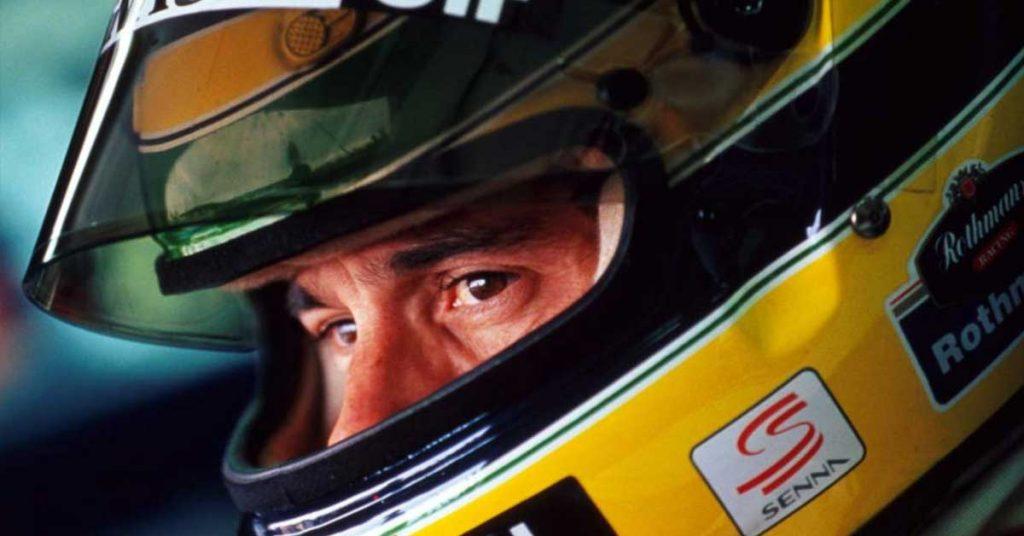 destacar a seriedade Ayrton Senna