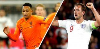 Inglaterra x Holanda