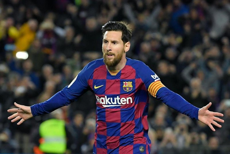 Messi e sua fantástica temporada