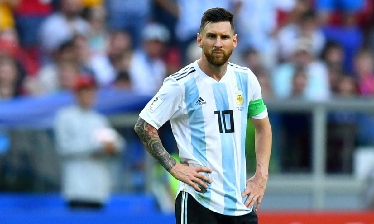 Argentina venceu a Nicarágua em amistoso