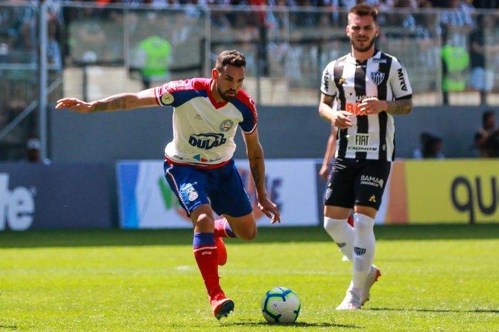 Bahia surpreende Atlético em BH e avança no Brasileiro