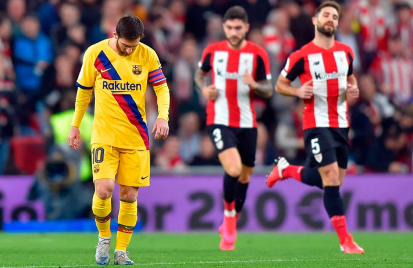 Barcelona e Athletic Bilbao, clássico dos campeões