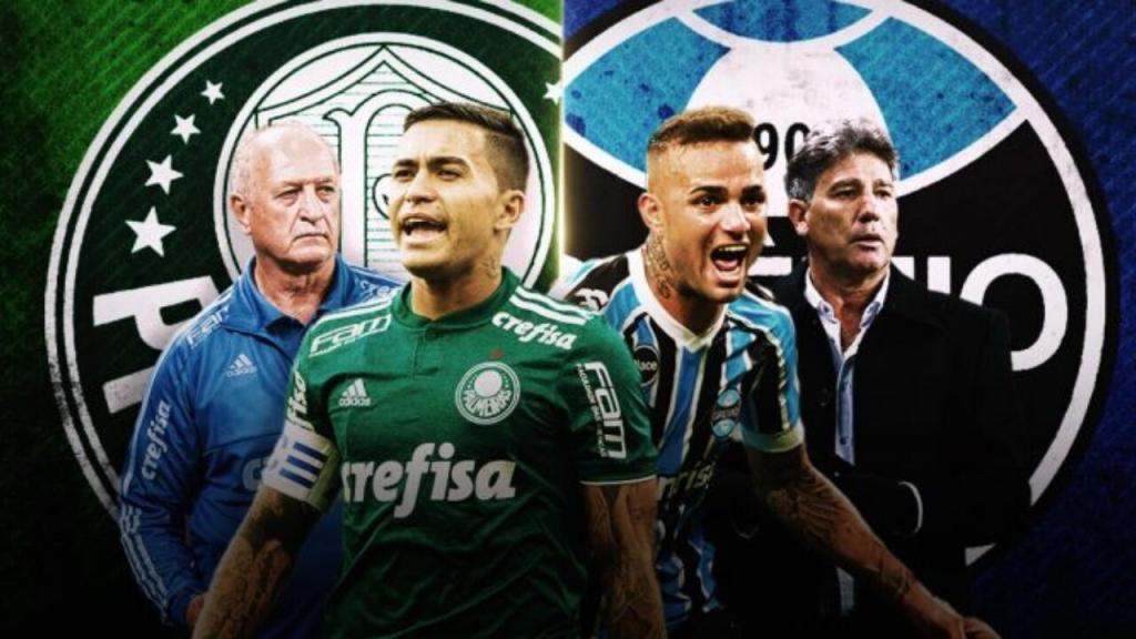 Grêmio e Palmeiras lendário