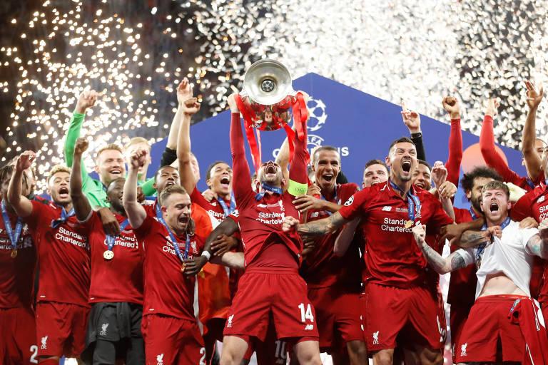 Incrível campanha do Liverpool na Premier League