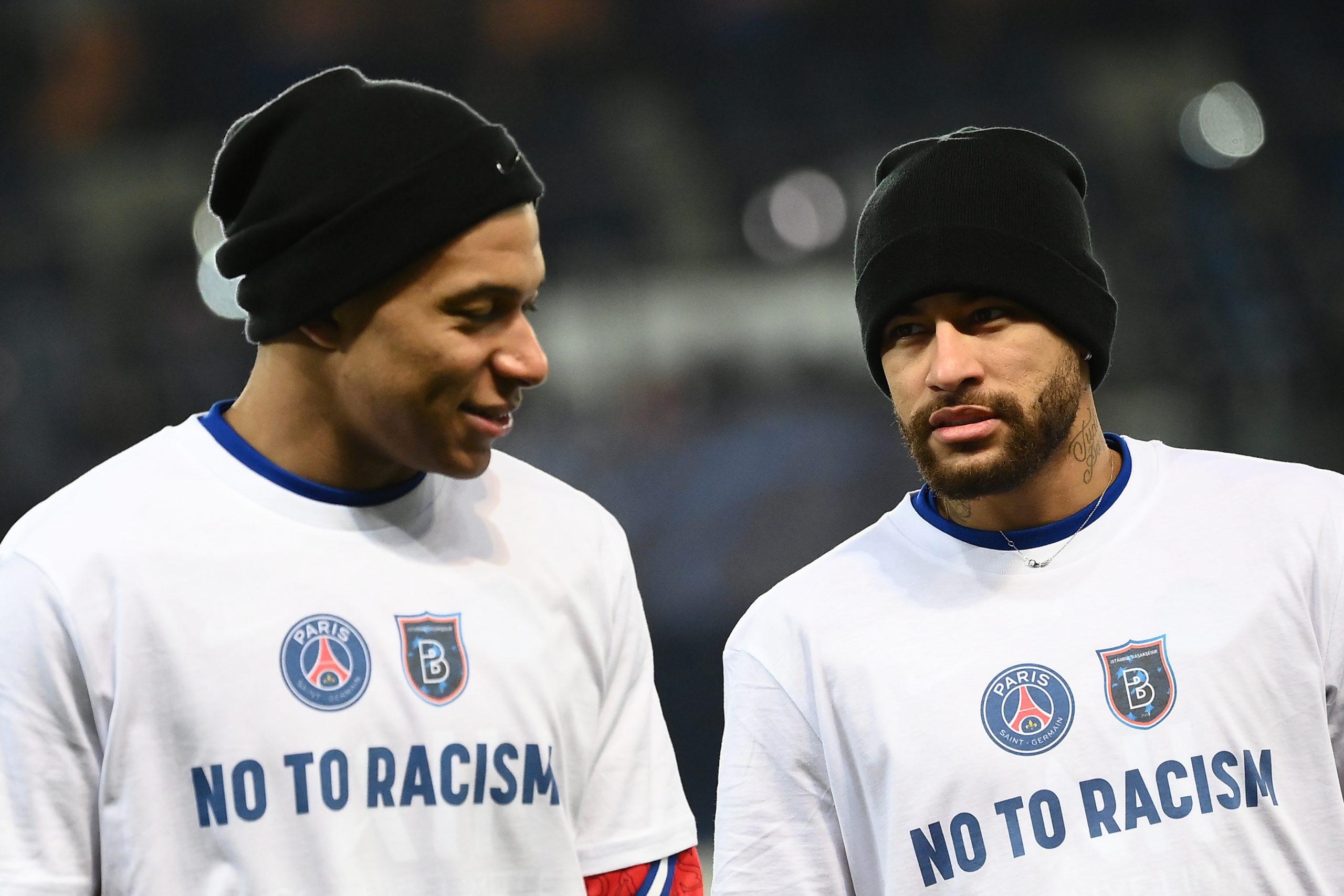 Mbappe sente orgulho dos times que se manifestaram contra racismo