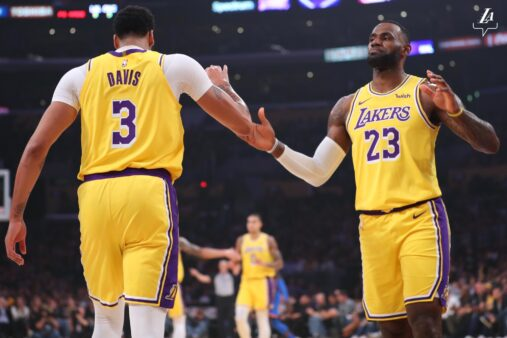 Los Angeles Lakers: LeBron James e Anthony Davis renovam os contratos