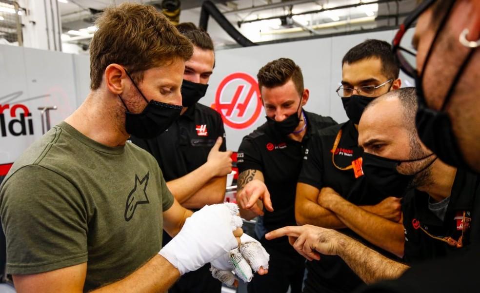 Romain Grosjean: FIA investiga acidente de piloto da Haas no Bahrein
