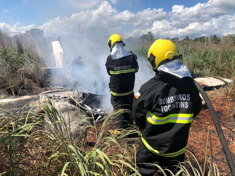 Jogadores do Palmas morrem em desastre aéreo
