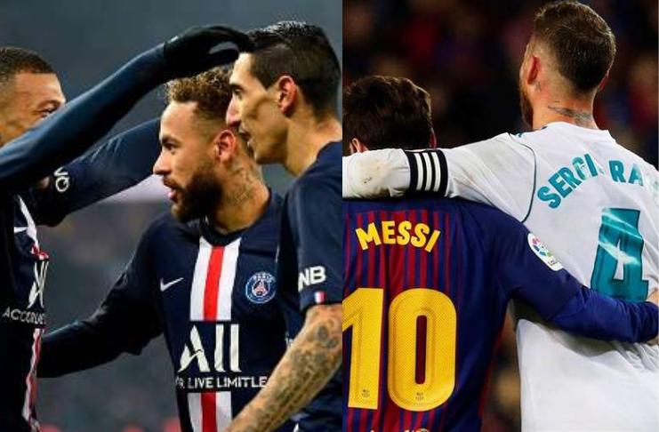 PSG diz a Sergio Ramos que quer ele e Lionel Messi no verão