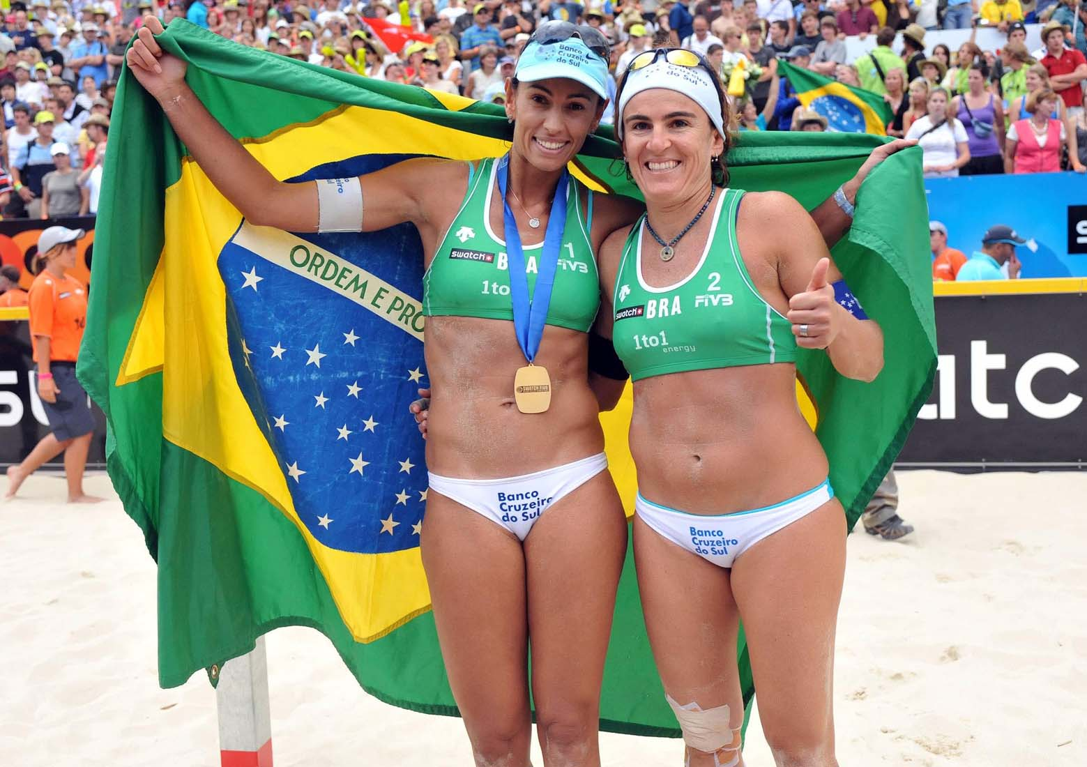 Essas foram as duplas mais icônicas do vôlei de praia feminino