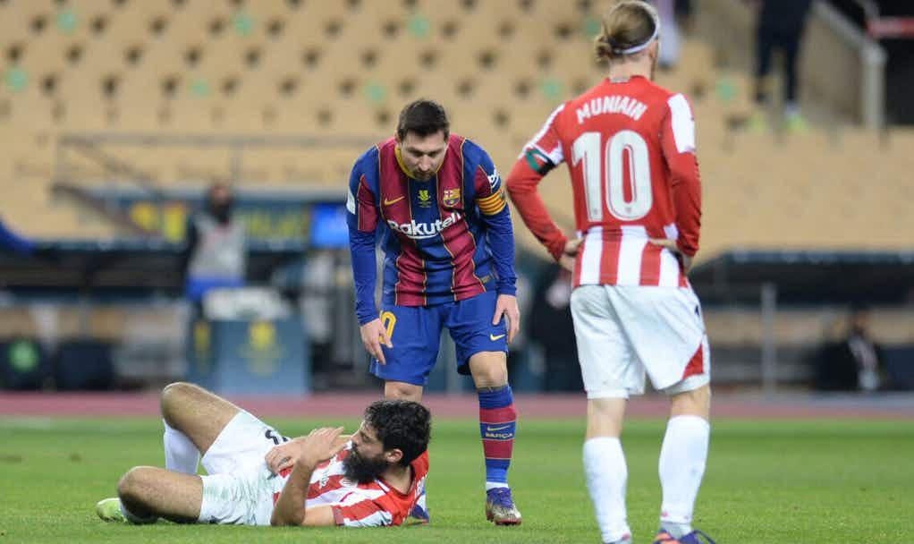 Primeiro cartão vermelho de Messi: Banido entre 4 e 12 jogos