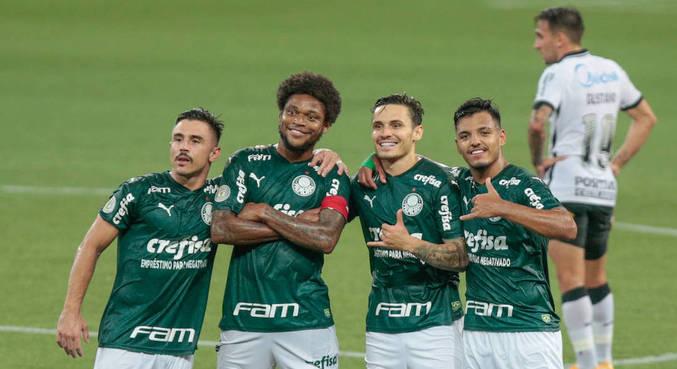 Palmeiras aplica goleada no Corinthians