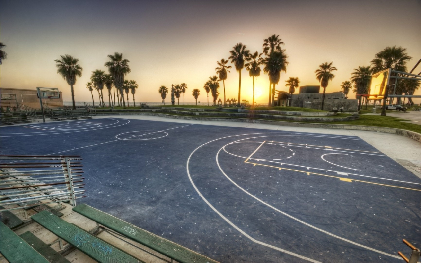Conheça as 10 quadras de basquete mais exóticas do mundo