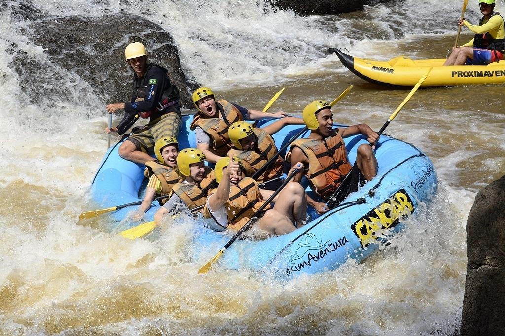 O que saber antes de praticar rafting