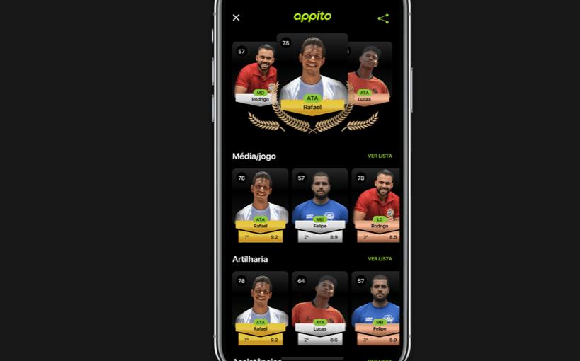 Appito App – Saiba como organizar os jogos de futebol com os amigos