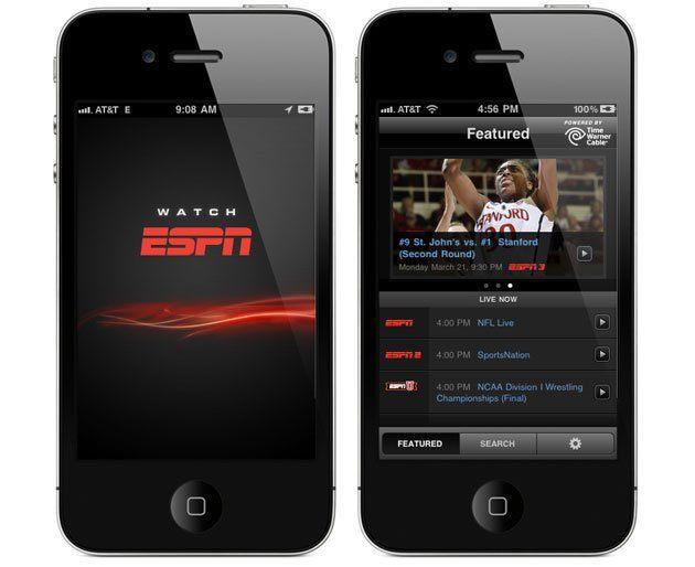 WatchESPN - Acompanhe as partidas ao vivo online