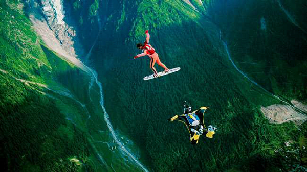 Sky Surfing - Conheça curiosidades sobre esse esporte